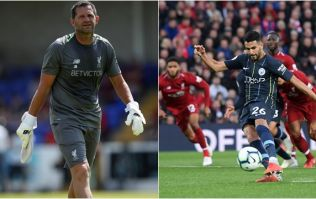 Jamie Carragher spotted what Liverpool's goalkeeping coach did before Mahrez penalty