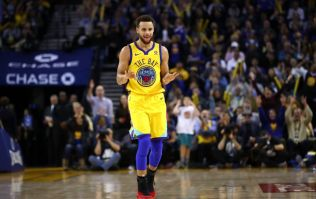 Steph Curry makes yet another impossible half-court shot look so effortless