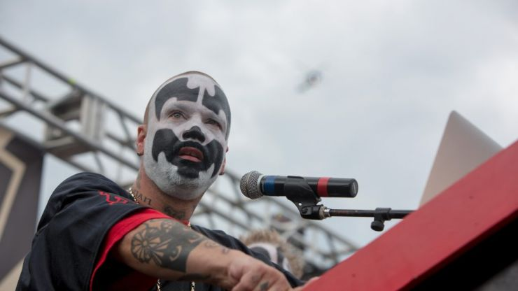 ICP member tried to dropkick Fred Durst this weekend and failed miserably