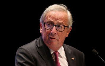 Jean-Claude Juncker denies mocking Theresa May by dancing before speech