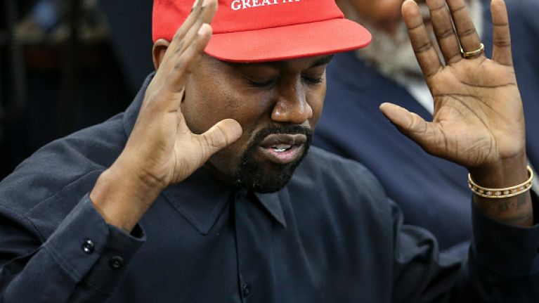 WATCH: Kanye West goes on a bizarre rant in the Oval Office