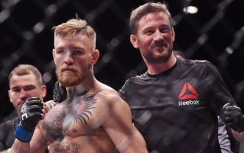 """John Kavanagh confirms second McGregor-Mayweather bout is """"being talked about"""""""