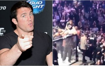 "If you think McGregor threw the first punch, Chael Sonnen wants you to ""shove it up your ass"""