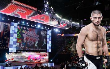 Khabib Nurmagomedov hints at switch to WWE