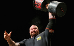 'The Mountain' Hafthor Bjornsson's brutal strength circuit