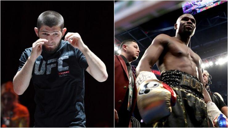 Floyd Mayweather has responded to Khabib Nurmagomedov's challenge