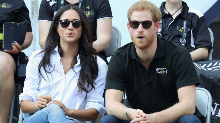 Prince Harry and Meghan Markle revealed pregnancy at Princess Eugenie's wedding