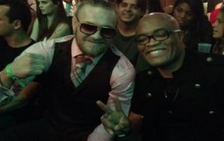 Coach names catchweight for potential Anderson Silva vs. Conor McGregor match-up