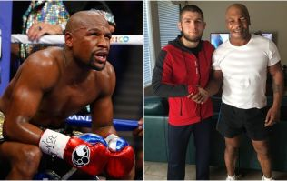 Nurmagomedov wants Mike Tyson in corner if Mayweather fight comes to fruition