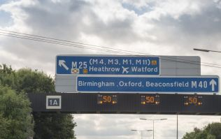 Three dead after car drives up M40 fast lane in the wrong direction