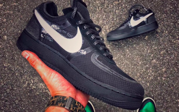 Off-White goes Off-Black as Nike ready release of new Air Force 1