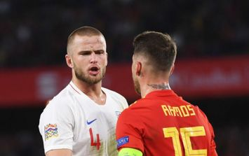 Eric Dier reveals Sergio Ramos congratulated him after his clattering tackle