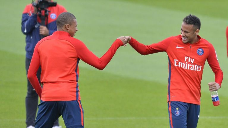 Neymar wants Barcelona return because of Kylian Mbappe, report claims