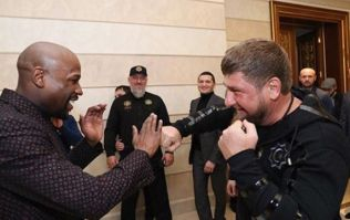"Floyd Mayweather on Khabib bout: ""Oh, we fighting!"""