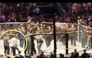 Irish fan rushed into Octagon at UFC 229 in attempt to protect Conor McGregor