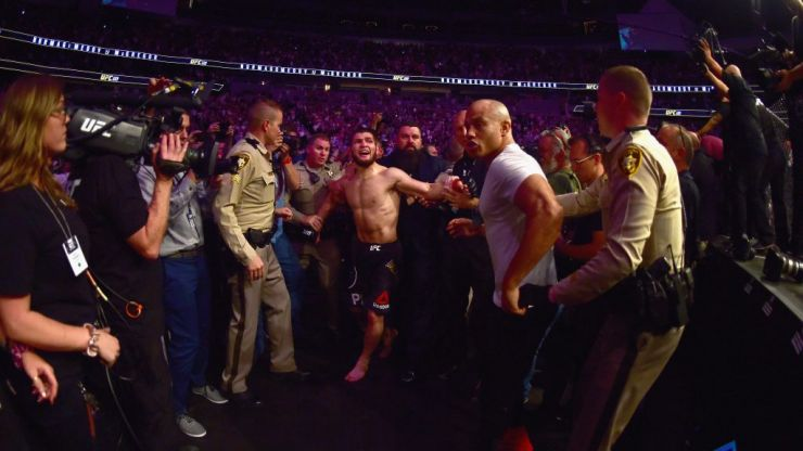 Three men involved in UFC 229 brawl receive extended suspensions at NSAC meeting