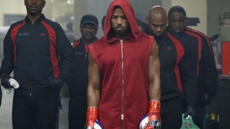 Sylvester Stallone and Michael B Jordan go hard in this exclusive Creed II clip