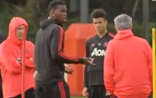 Man United midfielder confirms reason for Pogba vs. Mourinho training ground argument