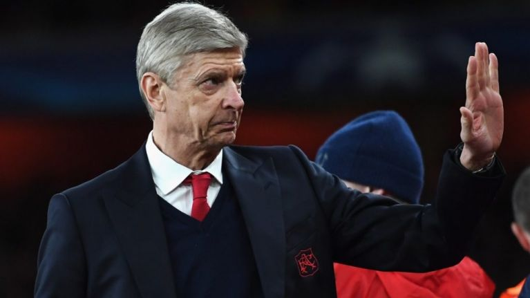 Arsène Wenger has his eyes on one of the biggest managerial jobs in Europe