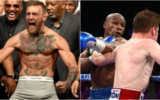 Conor McGregor is a better fighter than Canelo Alvarez according to Floyd Mayweather