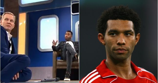 Former Liverpool winger Jermaine Pennant appears on Jeremy Kyle with wife, Alice Goodwin