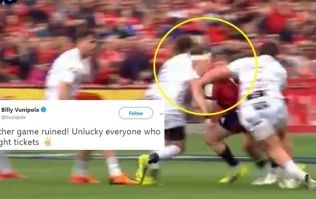 Billy Vunipola rages as Danny Cipriani gets red at Munster