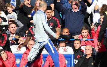 WATCH: José Mourinho baited into touchline scrap after late Chelsea equaliser