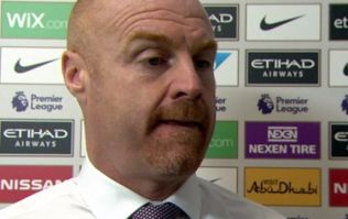 Sean Dyche claims Manchester City should have been reduced to nine men