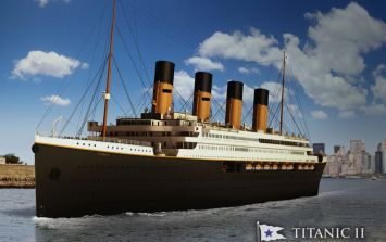 The Titanic II, following the exact same route as the original ship, to set sail in 2022