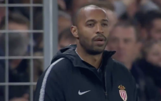 WATCH: Goalkeeping howler sees Thierry Henry get off to nightmare start as Monaco boss