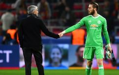 "Jose Mourinho ""not confident"" David de Gea will sign new contract"