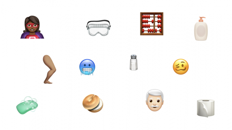 A handy guide to using the new emojis on the latest iOS update