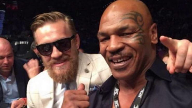 Conor McGregor buries hatchet with Mike Tyson and declares fondness for his marijuana strain