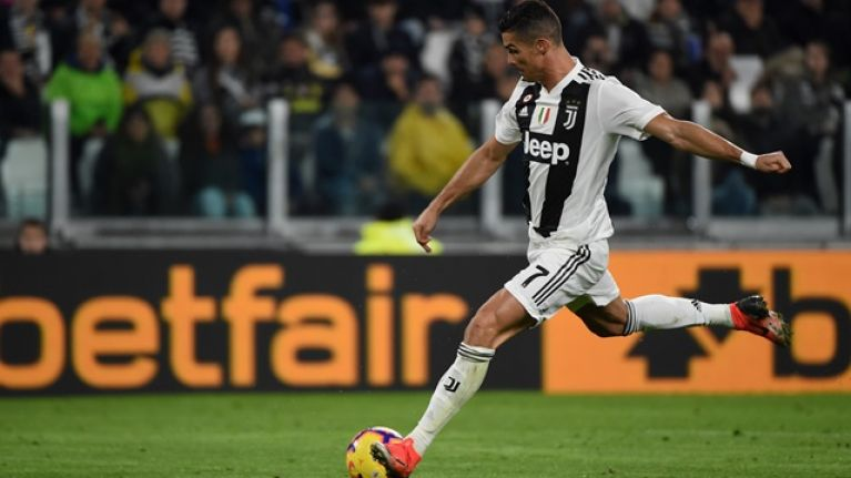 Cristiano Ronaldo not allowed to take certain free-kicks for Juventus