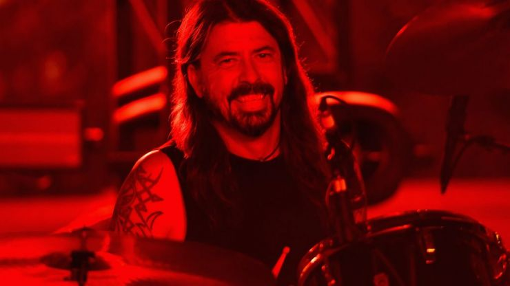 Dave Grohl reveals there's just one more band he'd love to play drums for