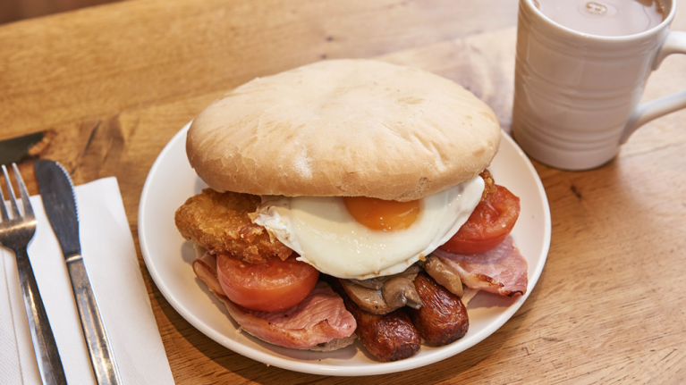 Morrisons have launched a staggeringly huge breakfast butty for a bargain price