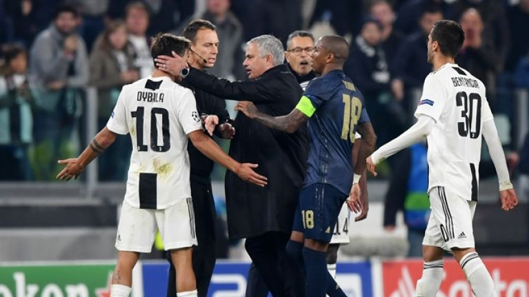 Jose Mourinho taunts Juventus fans after Man United record comeback victory in Turin