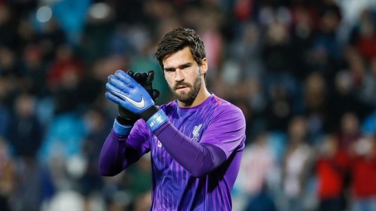 Liverpool's Alisson gives his verdict on the world's best two goalkeepers