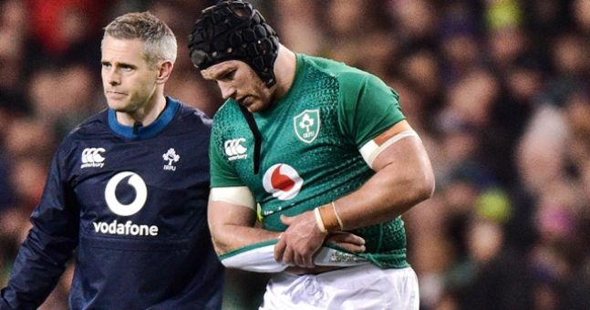 Joe Schmidt confirms Sean O'Brien broke his arm in win against Argentina