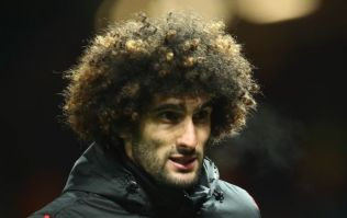 Marouane Fellaini has had a fresh new trim and it looks wrong