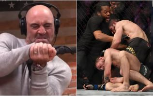 Joe Rogan defends Conor McGregor's tap at UFC 229