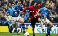 How Alex Ferguson reacted when Ruud van Nistelrooy swapped shirts with a Man City player