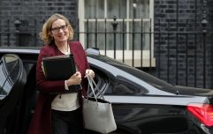 Amber Rudd is back in the cabinet as work and pensions secretary