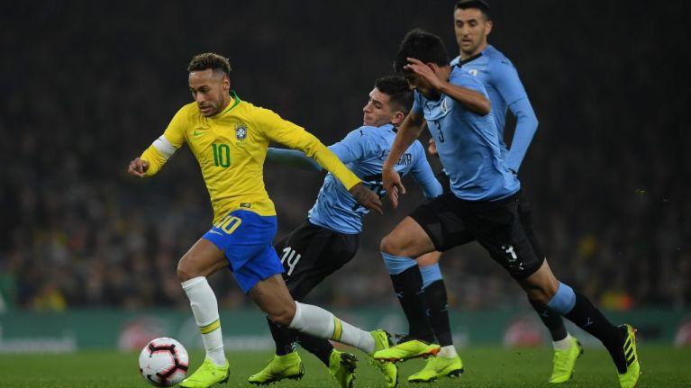 WATCH: Neymar sent crashing to the deck by crunching Lucas Torreira challenge