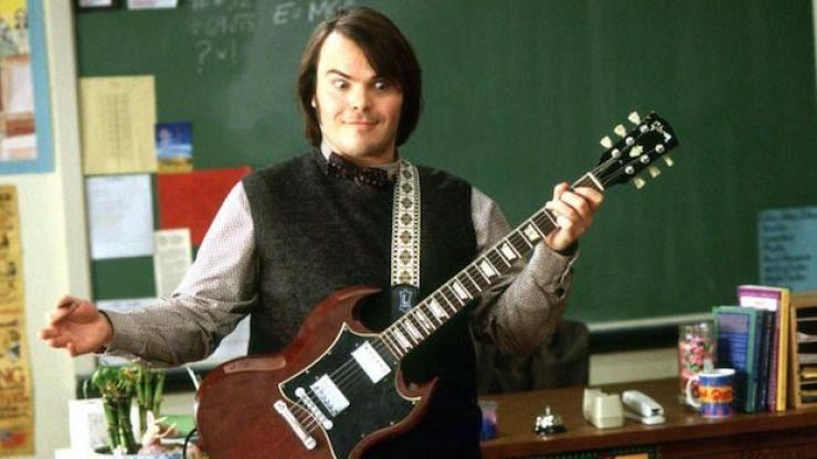 Jack Black reunited with the School of Rock drummer after 15 years