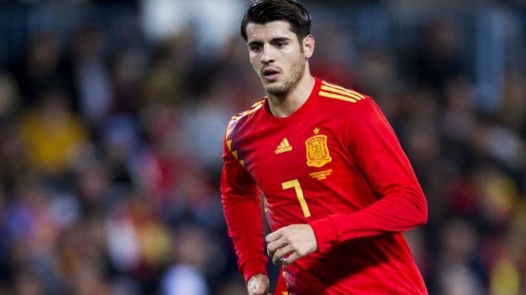 WATCH: Alvaro Morata misses absolutely ridiculous open goal for Spain