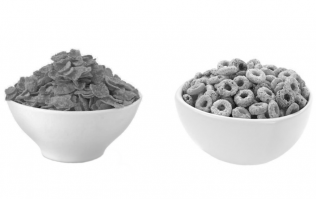 QUIZ: Can you identify the breakfast cereal that's in black and white?