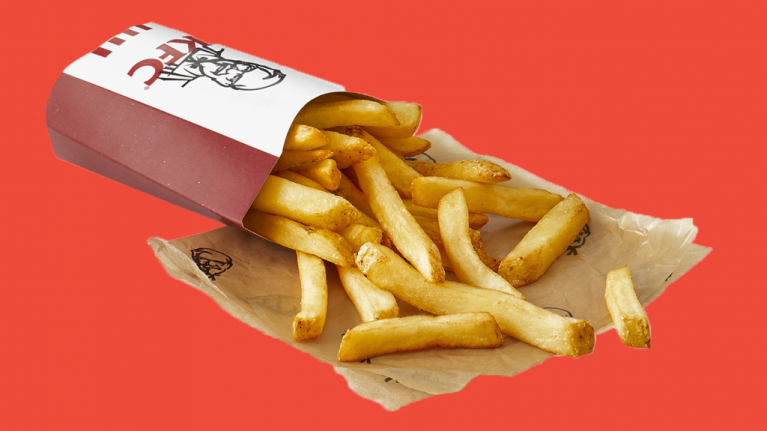 KFC is giving away its new and allegedly improved fries for free on Black Friday