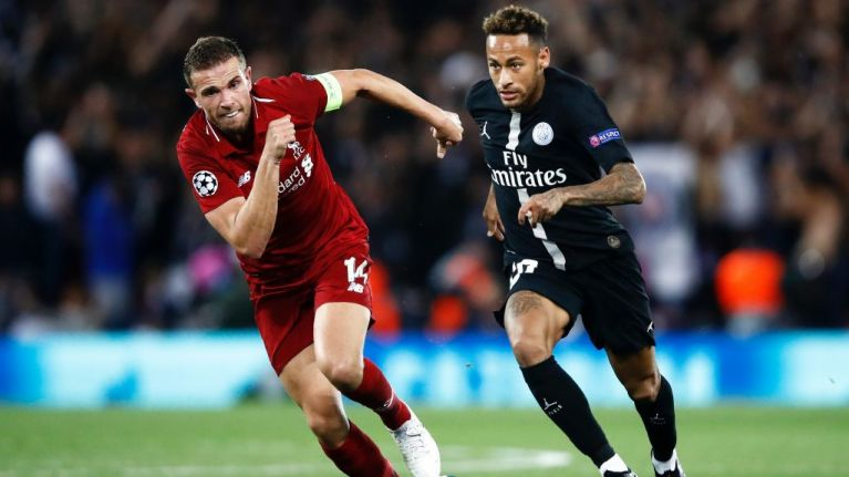 Both Kylian Mbappé and Neymar forced off with injuries ahead of Liverpool clash