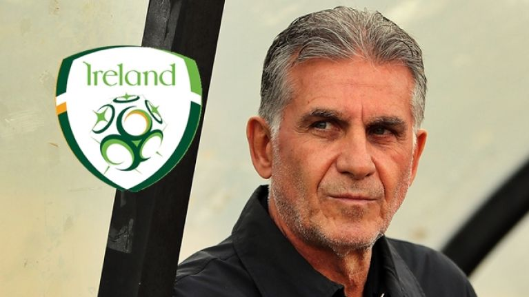 Carlos Queiroz emerges as candidate to become new Ireland manager